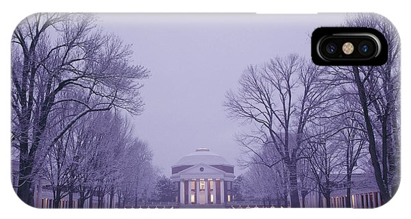 View Of The University Of Virginias IPhone Case