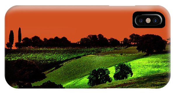 View Of Tuscany IPhone Case