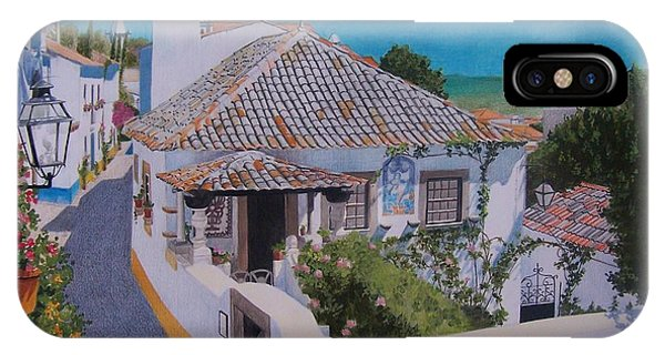 View On Obidos IPhone Case