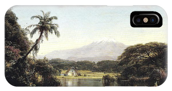 View On The Magdalena River IPhone Case