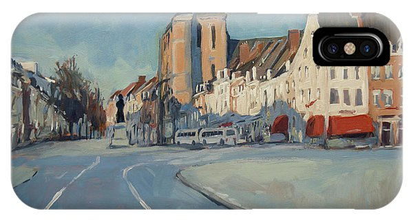 iPhone Case - View To Boschstraat Maastricht by Nop Briex
