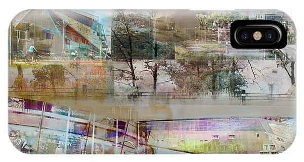 Vikings Stadium Collage 2 IPhone Case