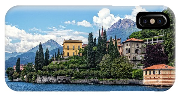Villa Cipressi On Lake Como IPhone Case