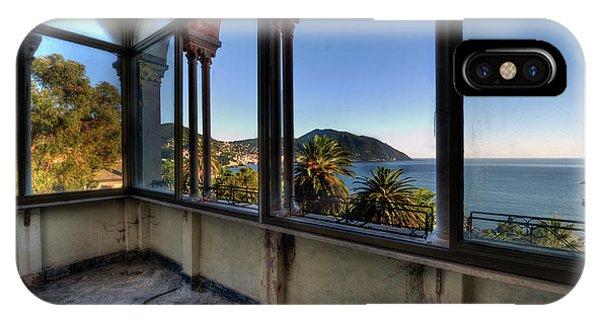Villa Of Windows On The Sea - Villa Delle Finestre Sul Mare II IPhone Case