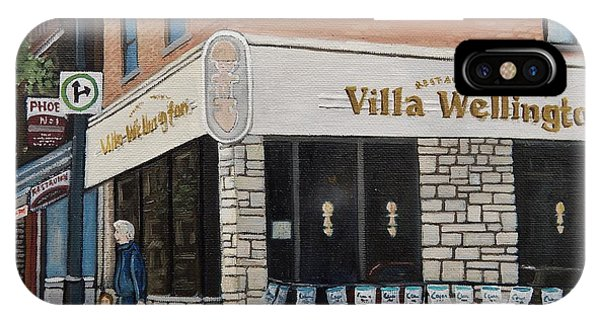 Villa Wellington In Verdun IPhone Case