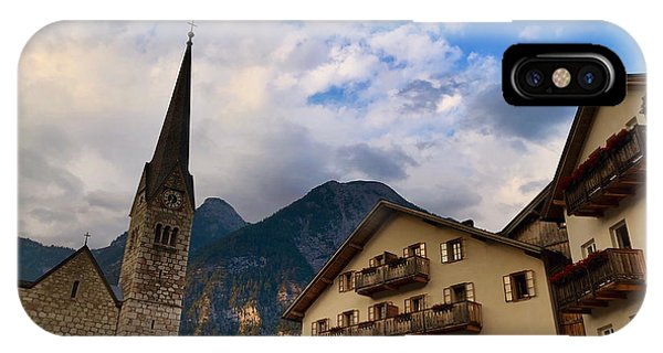 Village Hallstatt IPhone Case