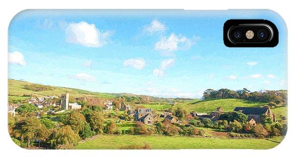 Dorset iPhone Case - Village Of Abbotsbury by Roy Pedersen