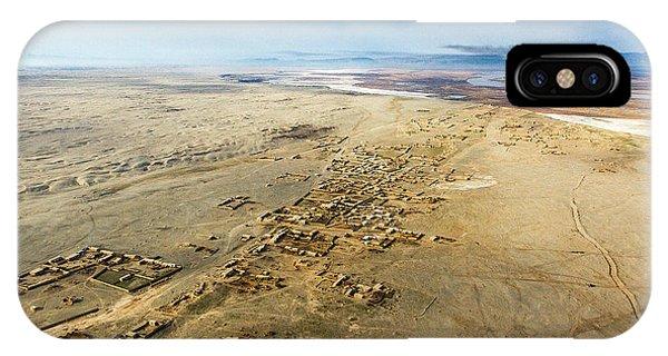 Village Toward Amu Darya River IPhone Case