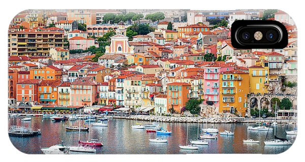 French Riviera iPhone Case - Villefranche-sur-mer On French Riviera by Elena Elisseeva