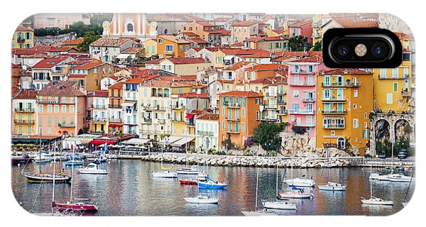 French Riviera iPhone Case - Villefranche-sur-mer View In French Riviera by Elena Elisseeva