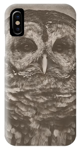 Vilma In Black And White IPhone Case