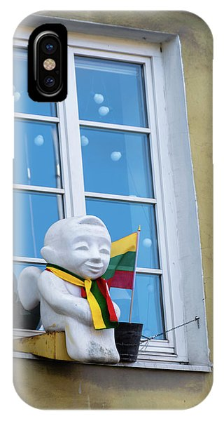 iPhone Case - Vilnius Angel by Steven Richman