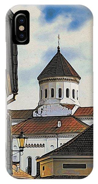 iPhone Case - Vilnius Old City by Steven Richman
