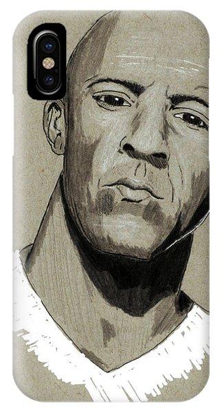 Vin Diesel IPhone Case