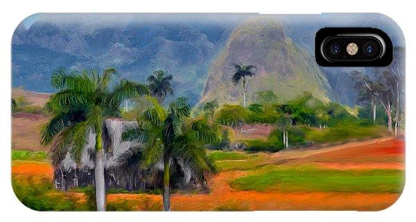 Vinales Valley. Cuba IPhone Case