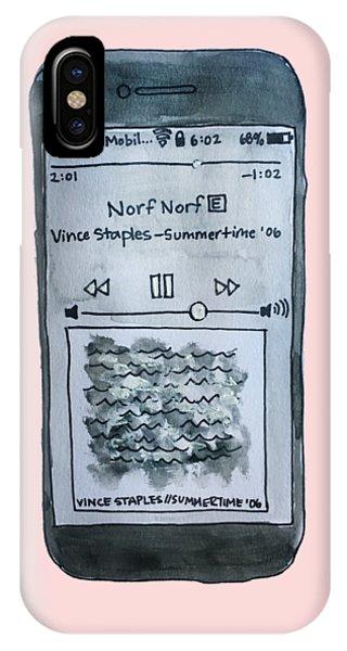 Vince Staples IPhone Case