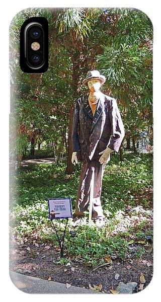 Vincent Van Crow Scarecrow At Cheekwood Botanical Gardens IPhone Case