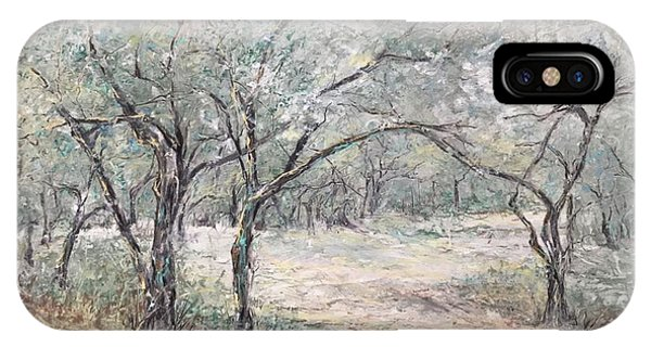 Vincents Olive Trees 2 IPhone Case
