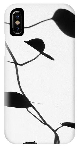 Vine Shadow IPhone Case