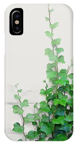 Vines By The Wall IPhone Case