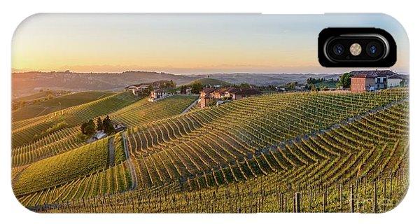 Vineyard At Barbaresco, Italy IPhone Case