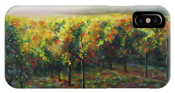Vineyard Glow IPhone Case