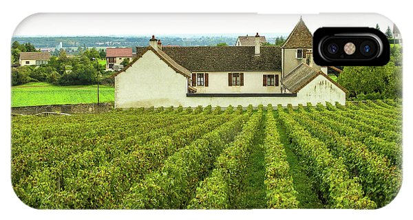IPhone Case featuring the photograph Vineyard In France by Jim Mathis