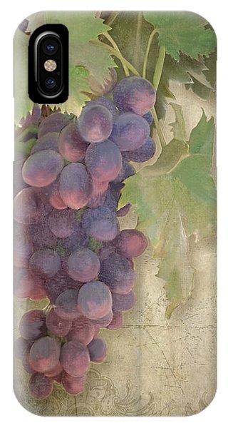 Vineyard Series - Chateau Pinot Noir Vineyards Sign IPhone Case