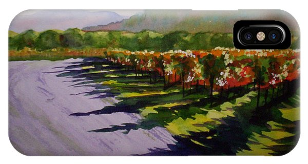 Vineyard Shadows IPhone Case