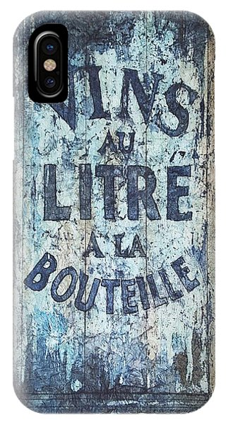Vins Au Litre IPhone Case