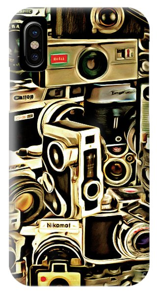 Vintage Abstract Photography 20150208 V1 Vertical IPhone Case