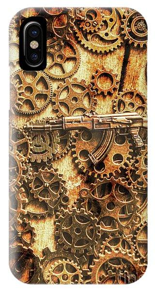 Vintage Ak-47 Artwork IPhone Case
