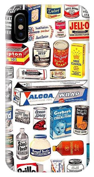 iPhone Case - Vintage American Brands by ReInVintaged