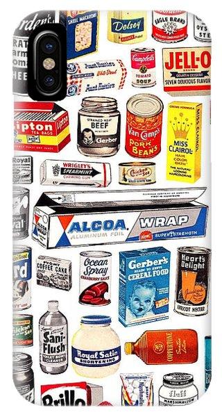 Vintage American Brands IPhone Case