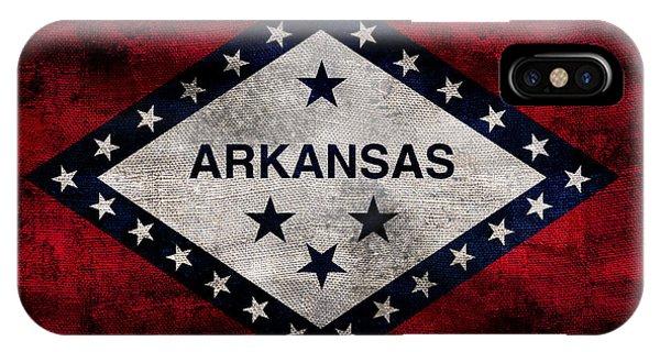 Vintage Arkansas Flag IPhone Case