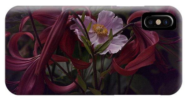 Vintage Asiatic Lilies  IPhone Case