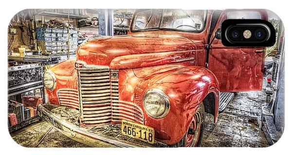 Farm Tool iPhone Case - Vintage Auto Service Garage by Debra and Dave Vanderlaan