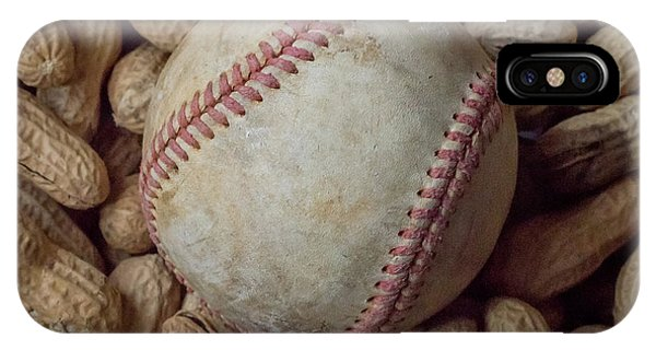 Vintage Baseball And Peanuts Square IPhone Case