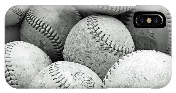 Vintage Baseballs IPhone Case