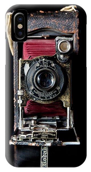 Vintage Bellows Camera IPhone Case