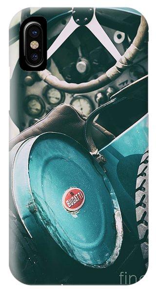 Vintage Bugatti T23 IPhone Case
