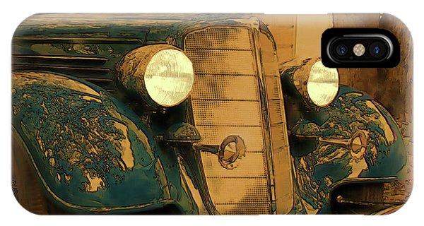 Vintage Buick IPhone Case