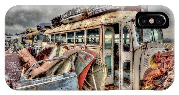 Vintage Bus IPhone Case