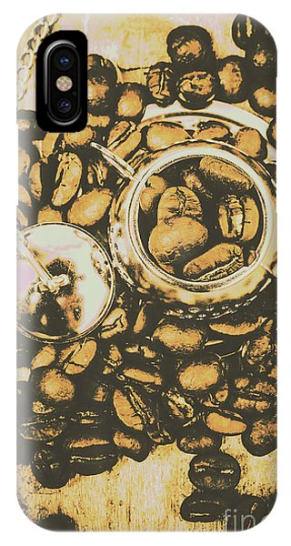 Kettles iPhone Case - Vintage Cafe Artwork by Jorgo Photography - Wall Art Gallery