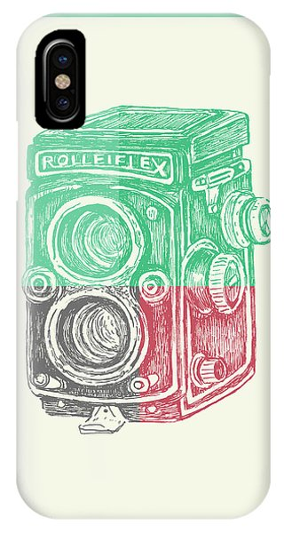 Vintage Camera iPhone Case - Vintage Camera Color by Brandi Fitzgerald
