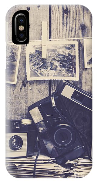 Vintage Camera iPhone Case - Vintage Camera Gallery by Jorgo Photography - Wall Art Gallery