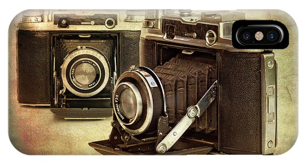 Vintage Cameras IPhone Case