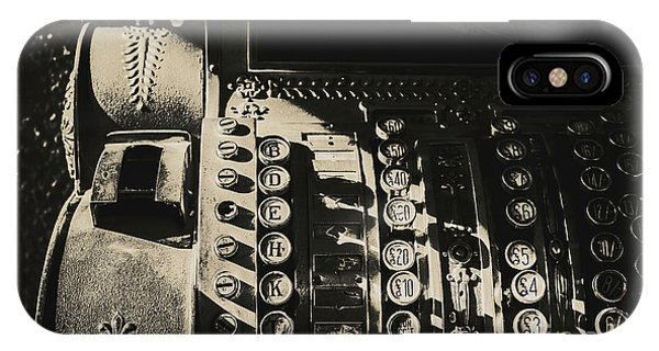 Change iPhone Case - Vintage Cash Register by Jorgo Photography - Wall Art Gallery