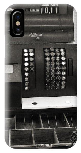 Vintage Cash Register IPhone Case
