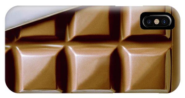 Tasty iPhone Case - Vintage Chocolate Block Macro by Jorgo Photography - Wall Art Gallery